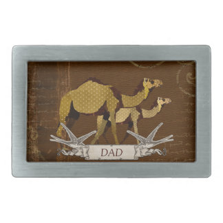 Camels Dad Belt Buckle