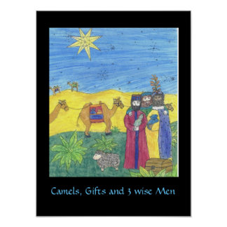 CAMELS GIFTS AND THREE WISE MEN poster
