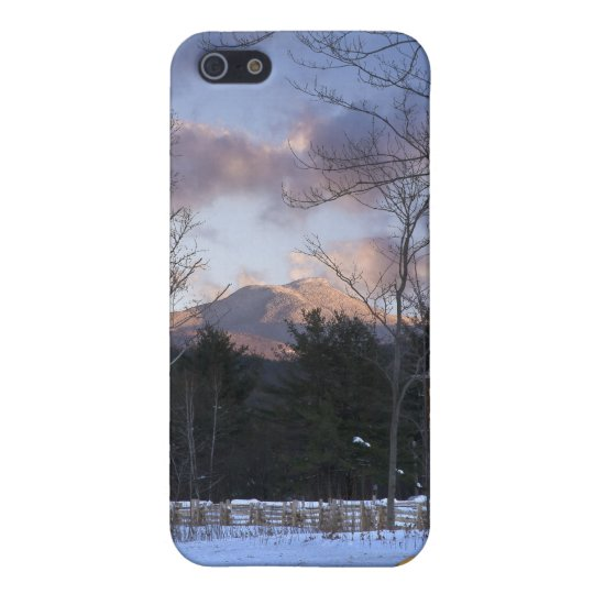 Camels Hump Winter Vermont Cover For iPhone 5/5S