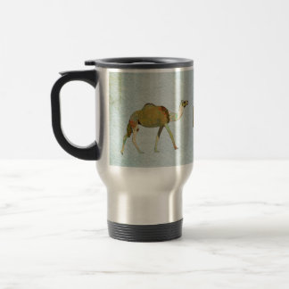 Camels  Monogram  Travel Mug