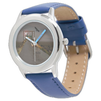 Camels Of To Wonderland, Kids Leather Watch