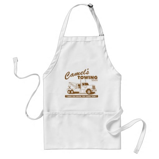 camel's towing company apron