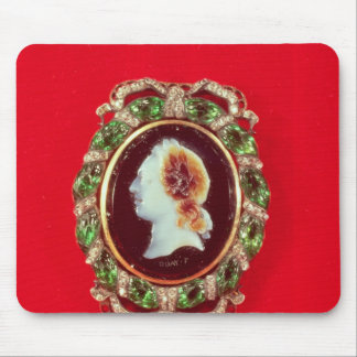 Cameo of Louis XV  from a bracelet worn Mouse Pad