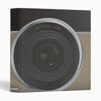 Camera 3 Ring Binder
