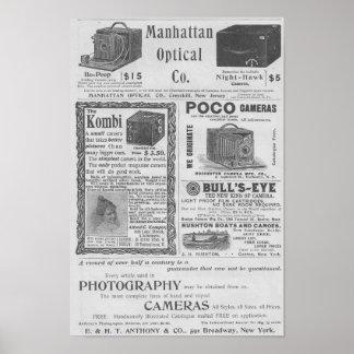 Camera ads poster