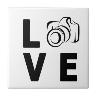 camera and love tile