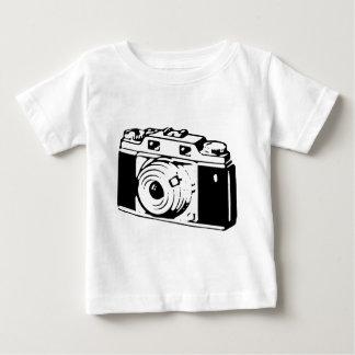 Camera, Black And White Baby T-Shirt
