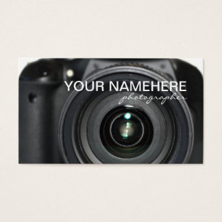 Camera Business Cards