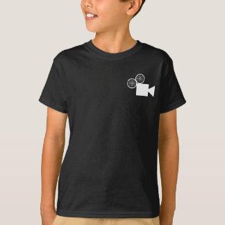 Camera Director Basic Hanes T.Shirt (Black) T-Shirt