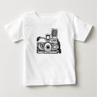 camera drawing Tracet Hill Baby T-Shirt