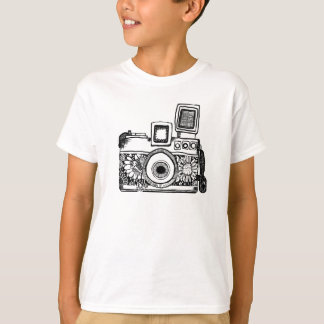 camera drawing Tracet Hill T-Shirt