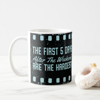 Camera Film Strip Funny Home and Office Humor Coffee Mug