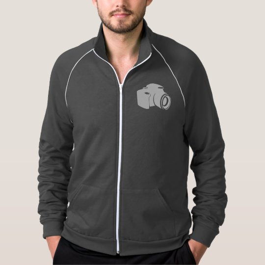 Camera Fleece Track Jacket