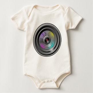 Camera Lens Baby Bodysuit