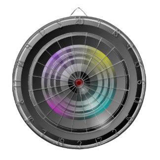Camera Lens Dartboard