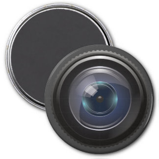Camera Lens for the Nerd Geeks Magnet