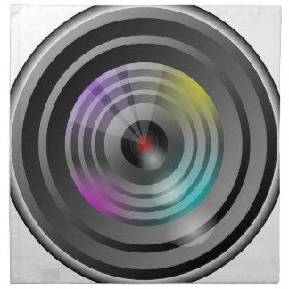 Camera Lens Napkin