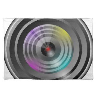 Camera Lens Placemat