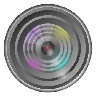 Camera Lens Plate