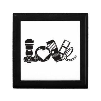 Camera Love Jewelry Box