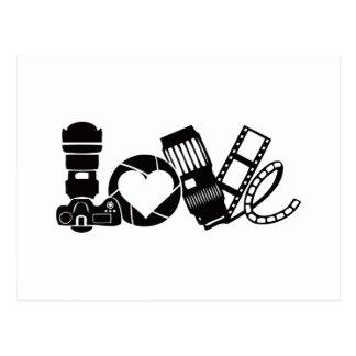 Camera Love Postcard