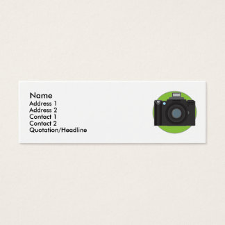 Camera Mini Business Card