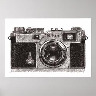 Camera Nikon 01 Poster
