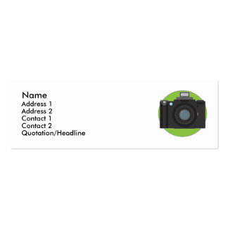 Camera Pack Of Skinny Business Cards