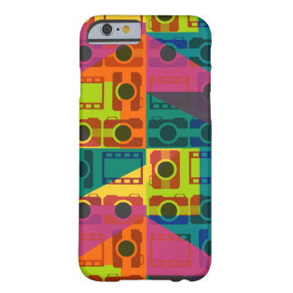 Camera pattern barely there iPhone 6 case