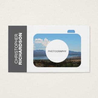 CAMERA PHOTO LOGO for PHOTOGRAPHERS Business Card