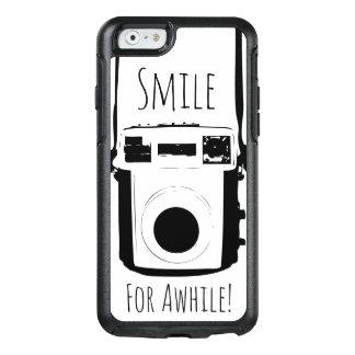 Camera, Retro Smile Black & White Picture Humor OtterBox iPhone 6/6s Case