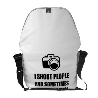 Camera Shoot Cut Head Courier Bags