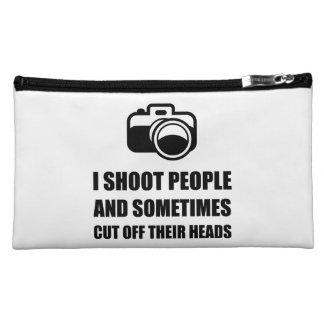 Camera Shoot Cut Head Makeup Bag