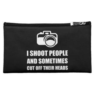 Camera Shoot Cut Head Makeup Bags