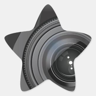 Camera Star Sticker