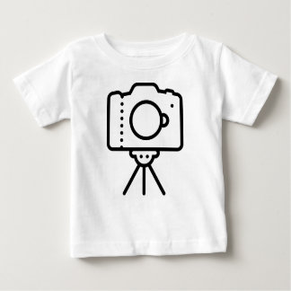 Camera Tripod Stand Baby T-Shirt