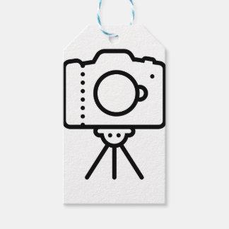 Camera Tripod Stand Gift Tags