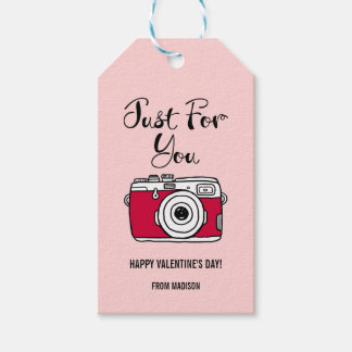 Camera Valentine Gift Tags . We Click Collection
