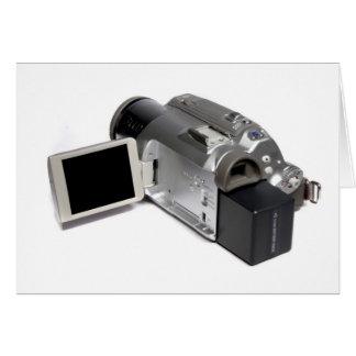 Caméra vidéo de Digitals Carte De Vœux