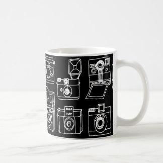 Camera - Vintage Cameras - B&W / Andrea Lauren Coffee Mug