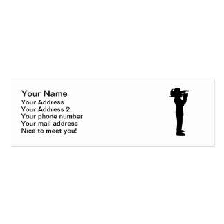 Cameraman Mini Business Card
