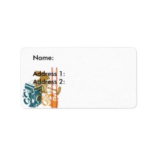 Cameras Address Label