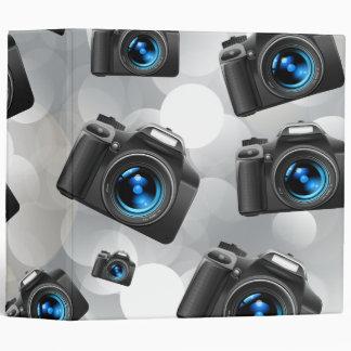 Cameras Vinyl Binder