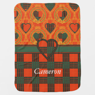 Cameron clan Plaid Scottish tartan Baby Blanket
