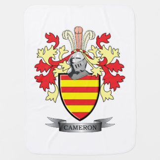 Cameron Family Crest Coat of Arms Baby Blanket