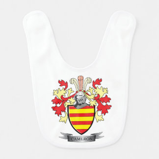 Cameron Family Crest Coat of Arms Bib