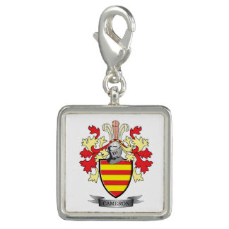 Cameron Family Crest Coat of Arms Charms