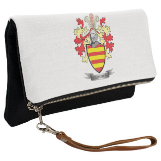 Cameron Family Crest Coat of Arms Clutch