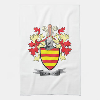 Cameron Family Crest Coat of Arms Kitchen Towel