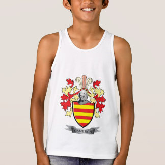 Cameron Family Crest Coat of Arms Tank Top
